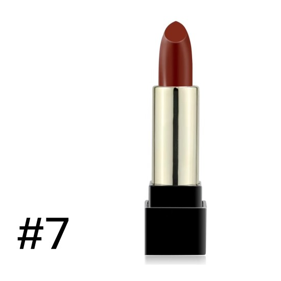 solid lipstick matte color